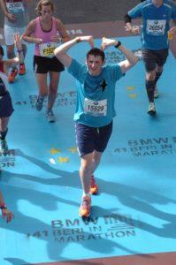 Nick running