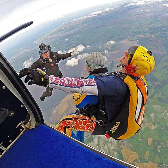 Skydive for PSC Support