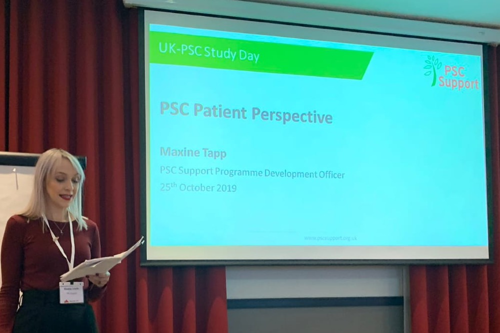 Maxine Tapp UKPSC Study Day Patient Perspective