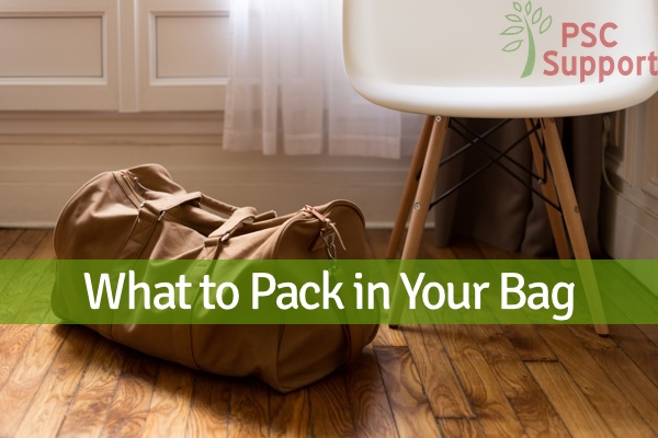 What to pack in your bag I