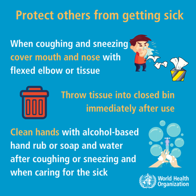 Protect others from getting sick3