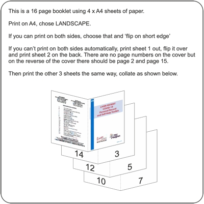Covid-19 Toolkit printing instructions