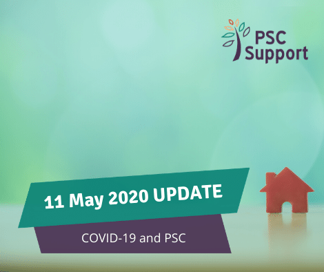 PSC Support update COVID-19 and PSC