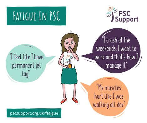 PSC Symptoms fatigue