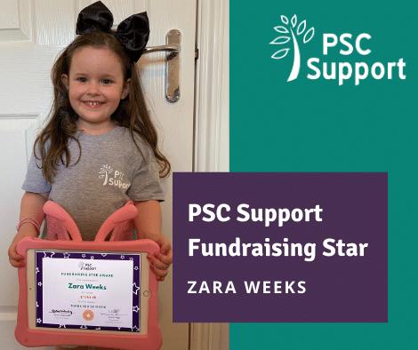Zara Fundraising Star
