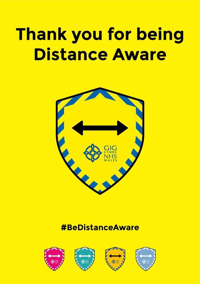 Distance aware shield