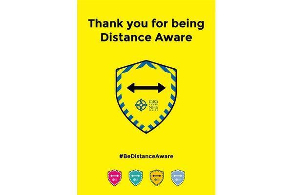 Distance aware posterm