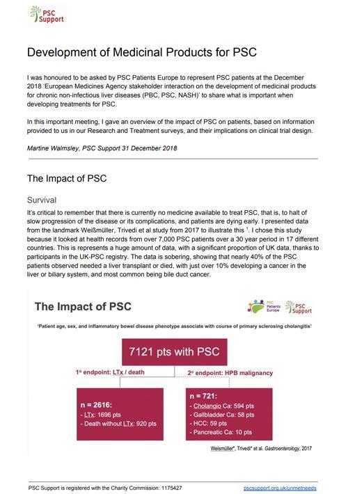 PSC Support Background Presentation Dec 2018