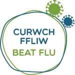 Beat Flu logo from NHS Wales