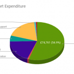 2019/20 Expenditure: Research£74,761, General Administration£1,247, Total Employment Costs £25,533, Advocacy£6,861, Awareness and Support£25,220, Fundraising£1,429, Governance£1,031