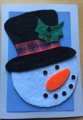 Christmas Snowman PSC Support
