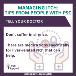 itch Tell your doctor