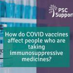 Vaccine and immunosuppressants web