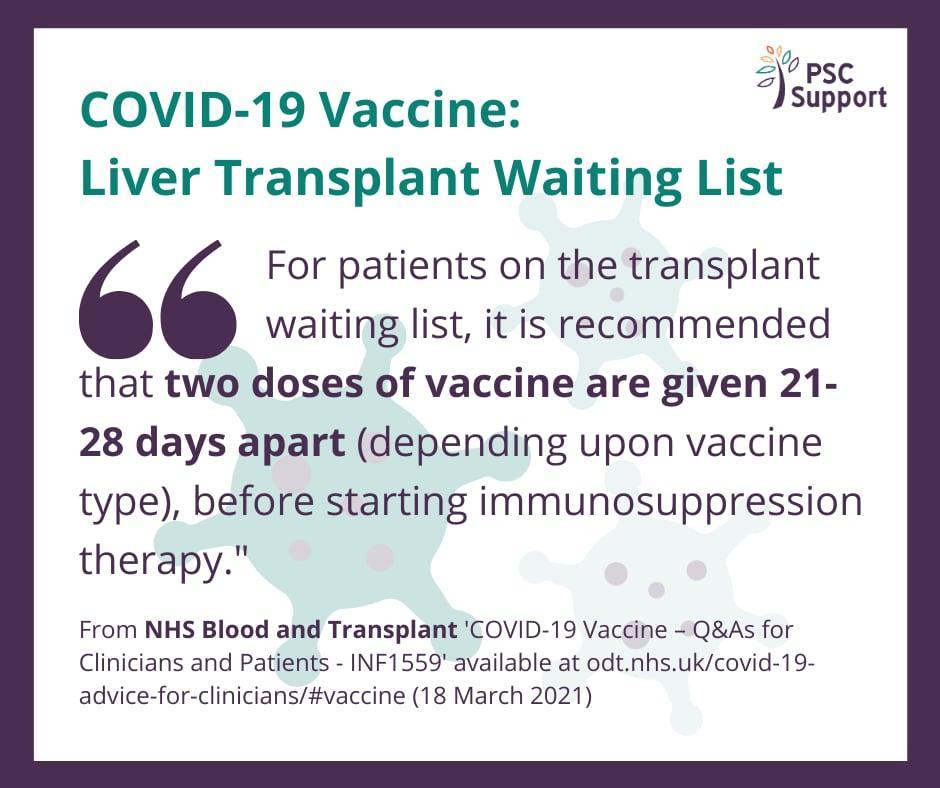 Waiting list vaccine web