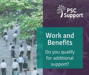 Welfare benefits psc support web