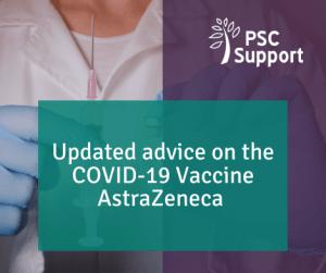 Updated AstraZeneca Vaccine Advice