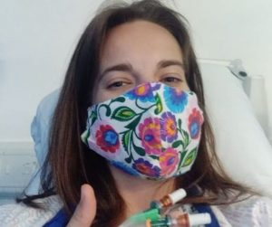 Katie - liver biopsy