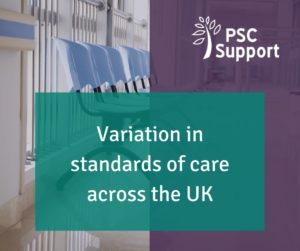 Variation in standards of care web