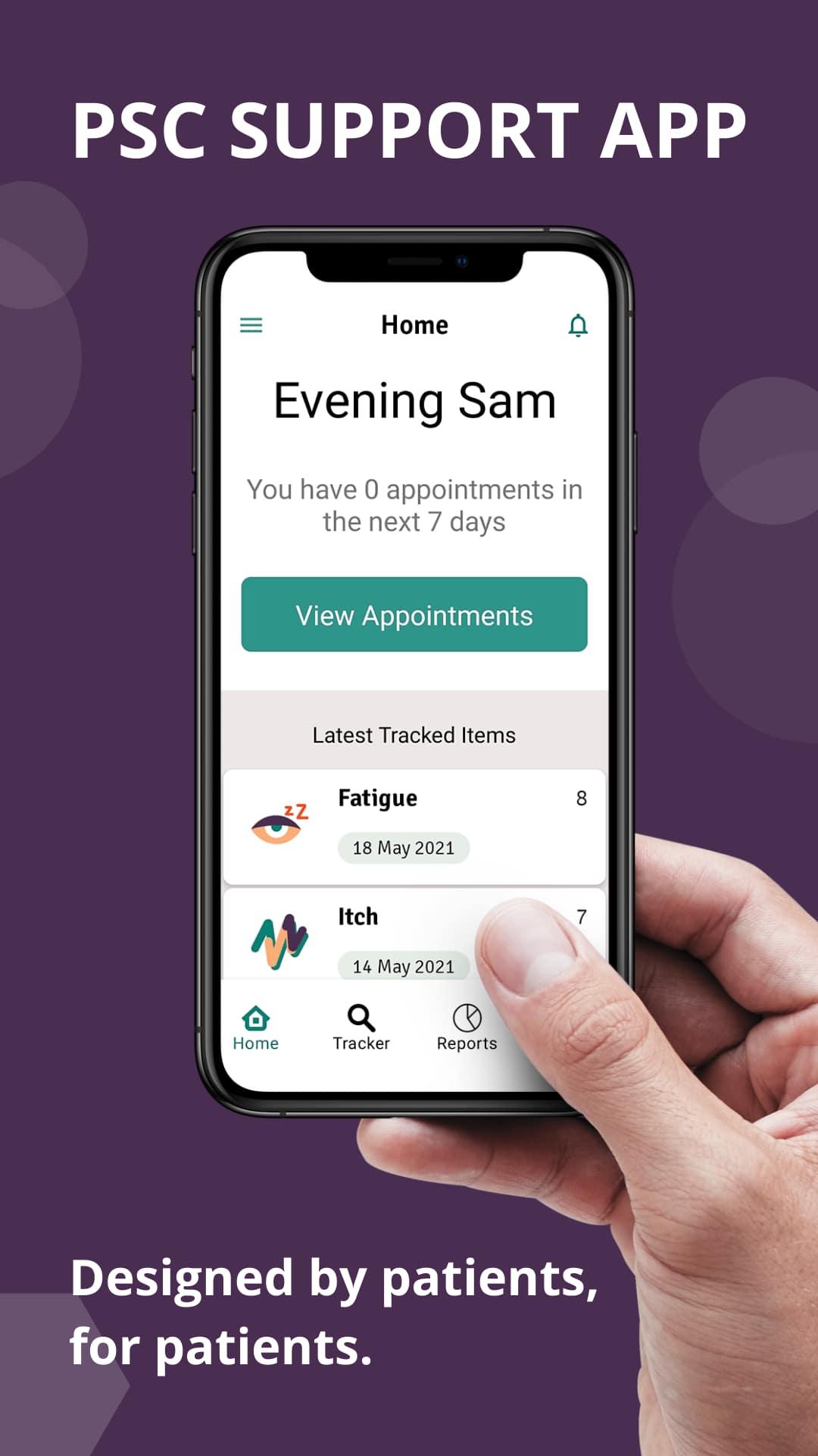 App for PSC patients
