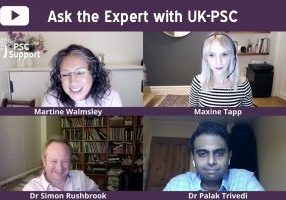 Ask the Expert with UK PSC