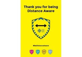 Distance aware posterm