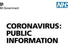 Coronavirus: Public Health Information