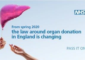 Organ donation PSC Support Pass it on f