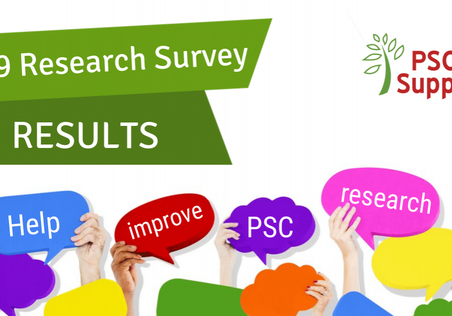PSC Support 2019 Research Survey Results with logo