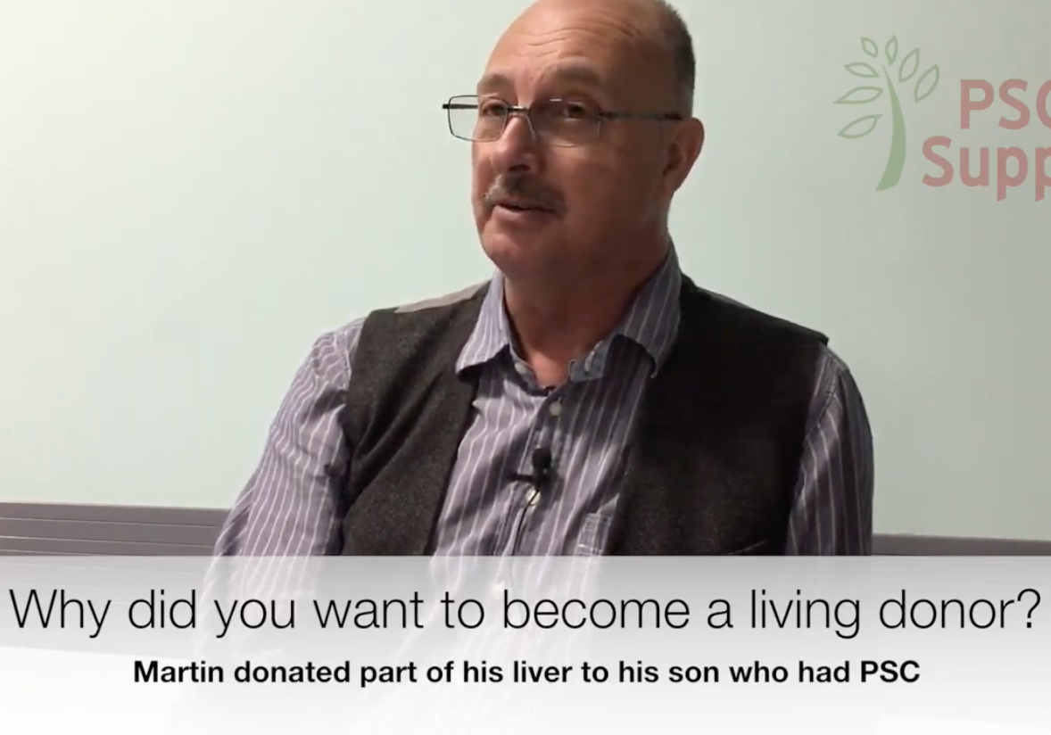 Martin on living donor liver transplant