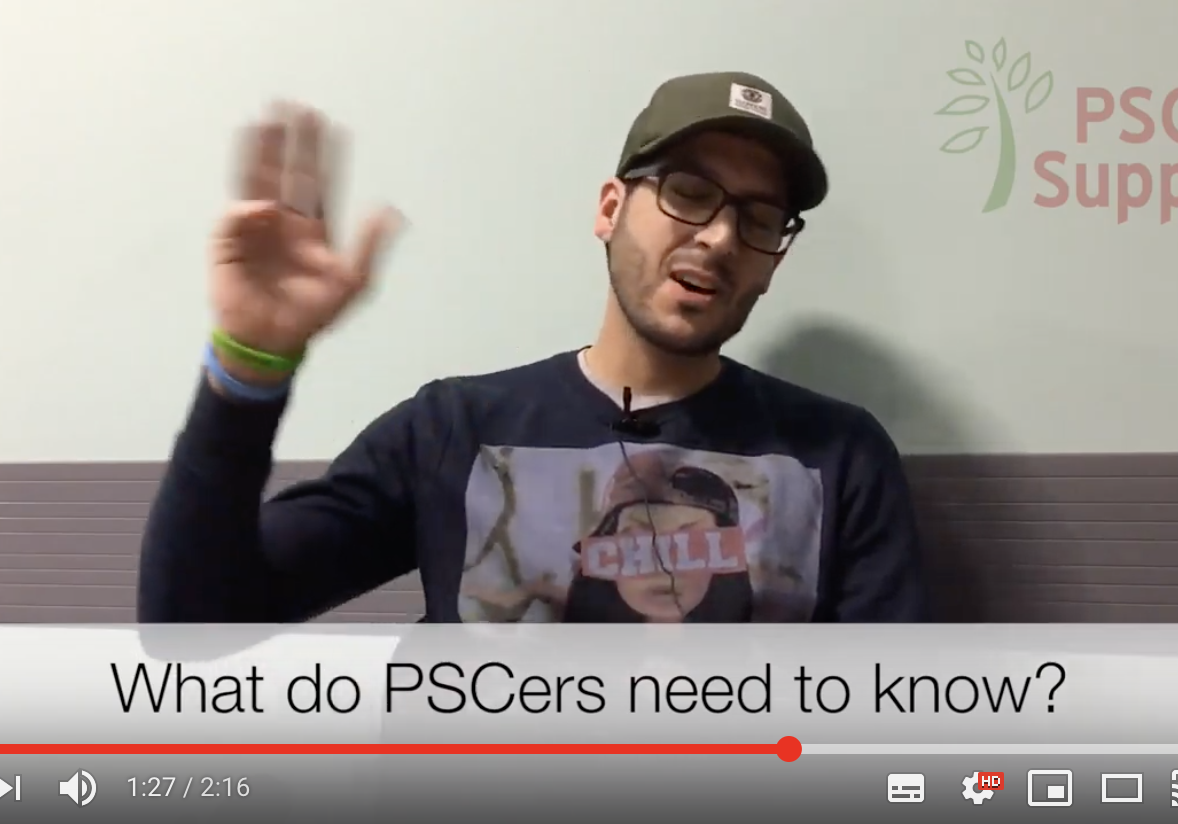 What you need to know if you have PSC