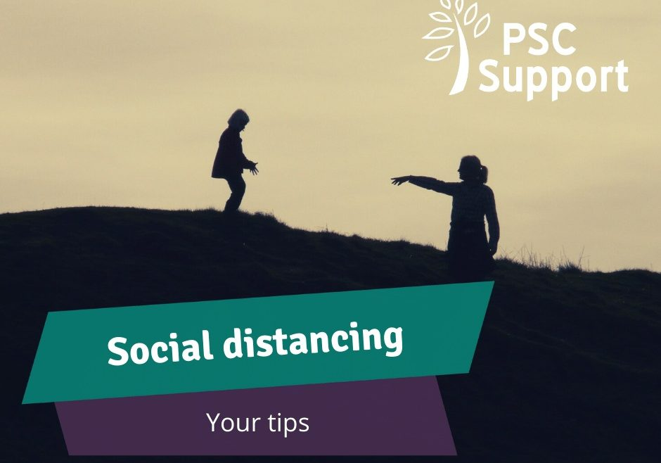Your social distancing tips